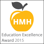 Houghton Mifflin Harcourt Education Excellence Award Winner 2015